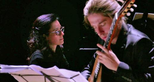 Andrea Ferrario-ClassicalGuitar Elena Napoleone Piano